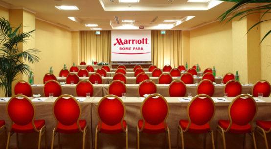 festa aziendale marriott hotel roma